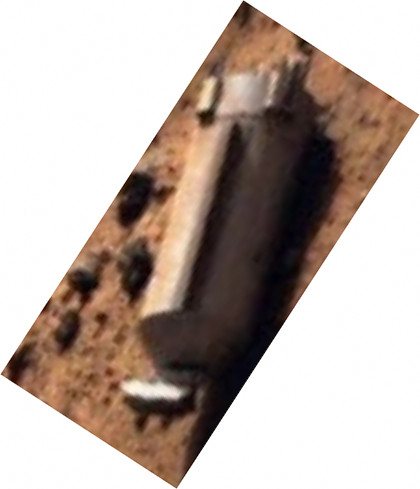 MARS Mystery Object WTF Is this thing captured on MARS