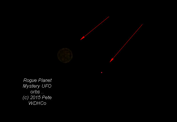 MYSTERY Planet Capture and UFO capture 2015