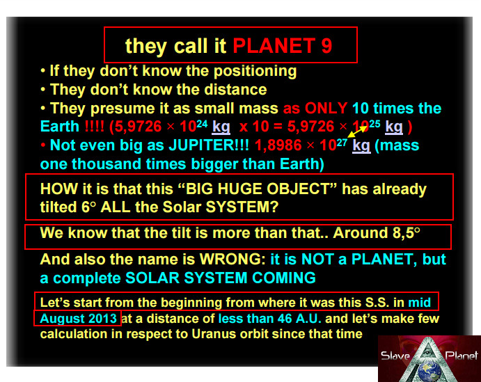 Planet 9 v Planet X Mass Orbits and more