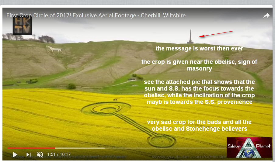 SIGNS IN THE SKY New Crop Circles Captured April - May 2017