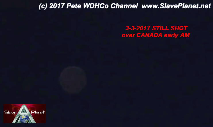 Mystery Planet watching earth capture 3-3-2017