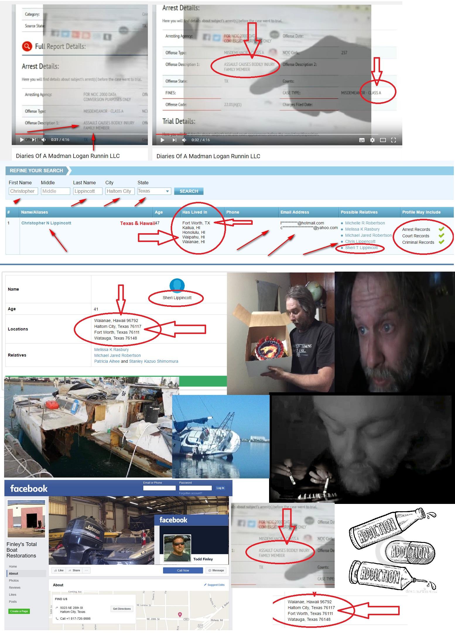 ChristopherNLippincottCriminalrecordTROLLfinleystotalboatrestorationsTexas