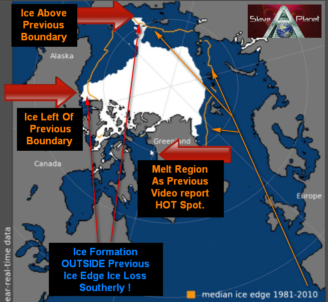 Pole Shift News 2018 Ice Cap Extent Coverage