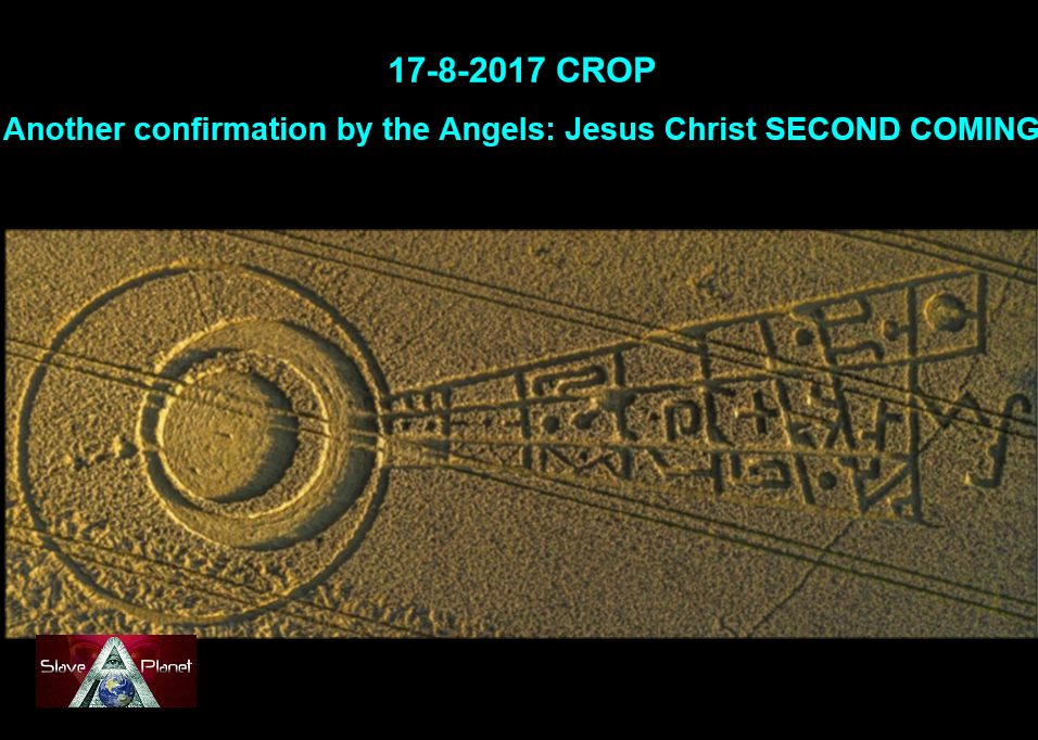 Crop Circle decode ECLIPSE August 2017