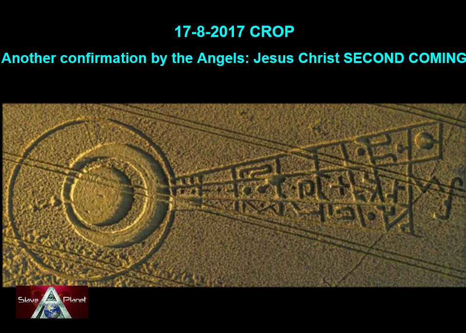 Crop Circle decode ECLIPSE August 2017