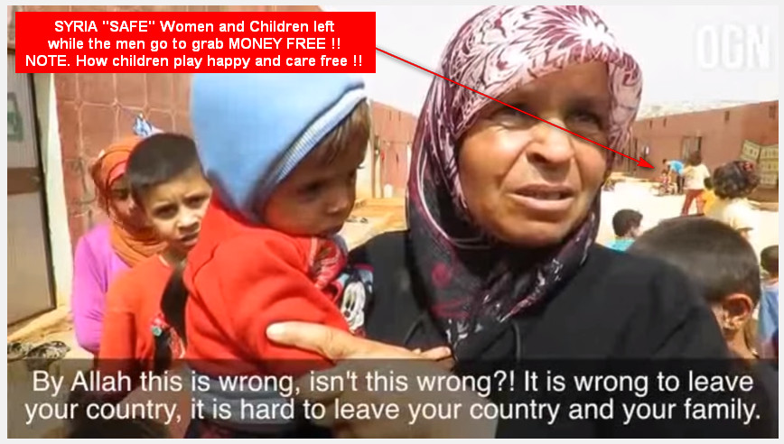 SYRIA Women children safe