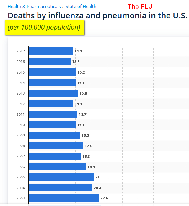 Flu FACTS USA Corona Virus