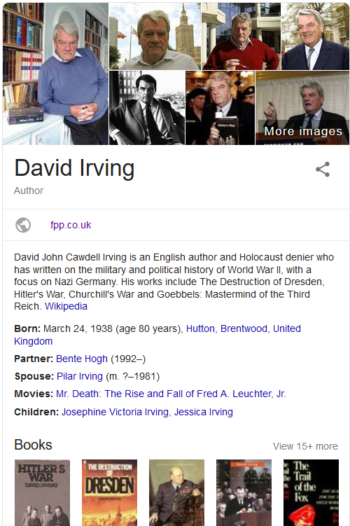 David Irving THE BANNED SILENCED Historical Truther SPEAKS OUT