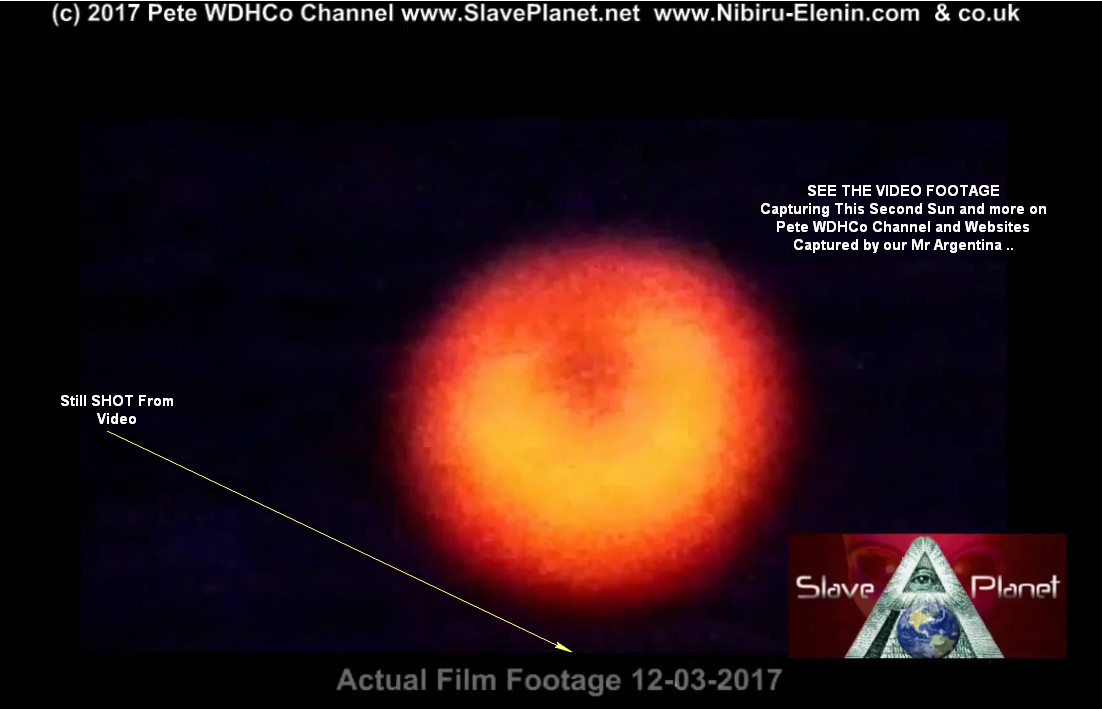 2nd SUN - PLANET X - AMAZING VIDEO Capture 2017