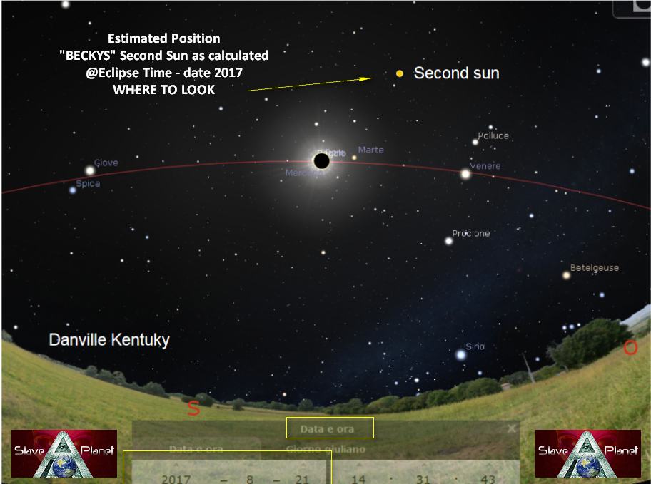 Planet X Second sun WHERE TO SEE During Eclipse 2017