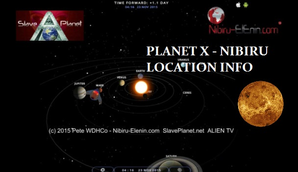 Finding Planet X Nibiru latest information viewing News Info